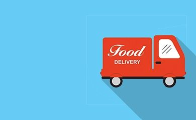 Решение для службы доставки еды